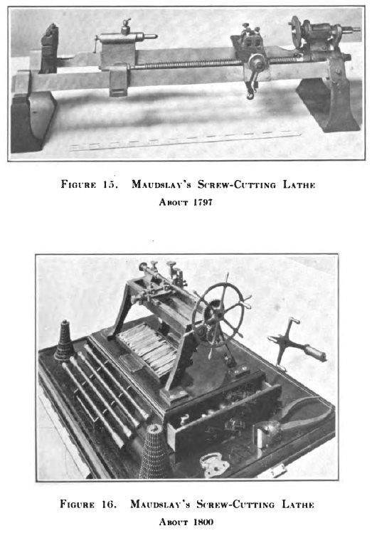 Abbildung der Innovation von Henry Maudslay, ein großer Ingenieur
