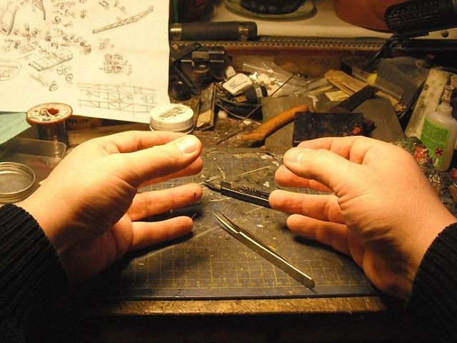 Modellbau mit den eigenen Händen geschaffen